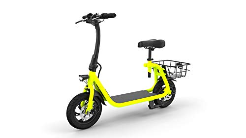 Chameleon e-Scooter Powered e-Bike Pedal-Free 12 Miles Litiium-ion Battery Small Electric Scooter Vehicle