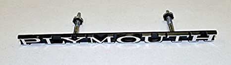 NEW Mopar 1970 Cuda Grille Emblem