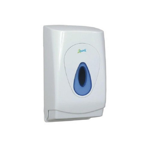 2WORK MON119 Bulk Pack Toilet Tissue Dispenser, White VOW Europe CPD97304