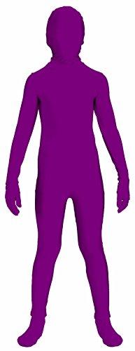 Red Invisible Man Costume (Forum Novelties I'm Invisible Costume Stretch Body Suit, Burgundy, Child Medium)