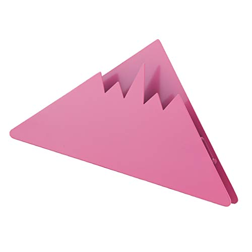 Prettyia Stainless Steel Coffee Filter Holder Coffee Paper Storage Rack Coffee Filter Paper Display Stand, 4 Colors Available - Pink by Prettyia (Image #4)