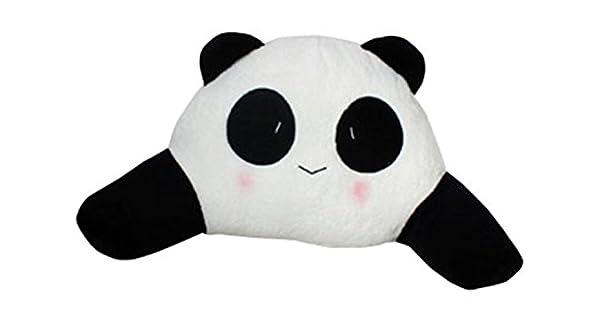 Amazon.com: TheWin blanco negro Niña Oso Panda cojín de ...
