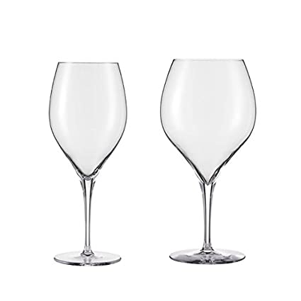 Schott Zwiesel Tritan Crystal Glass Grace Stemware Collection Burgundy Red Wine Glass, 23.6-Ounce, Set of 8 0057.119084S8
