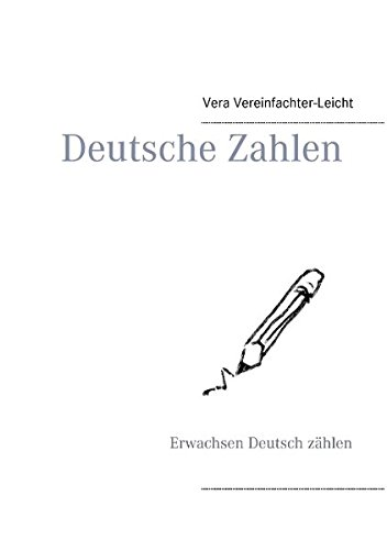 Deutsche Zahlen: Erwachsen Deutsch zählen