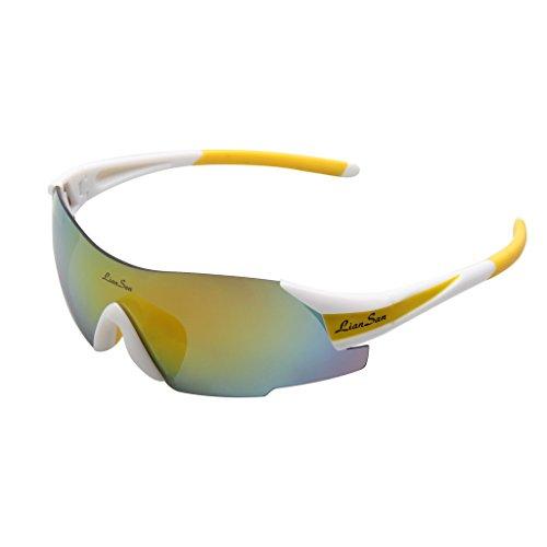 LIANSAN Designer Rimless Sports Men Women Driving Sunglasses UV Protection LS7889 - Wye Glasses