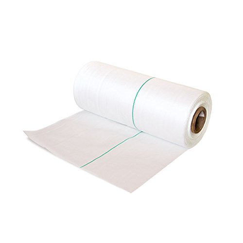 Unkrautvlies Weiss Gartenvlies Unkrautfolie Mulchfolie Mulchvlies GEO-Textil Rolle 210m² ca. 120g/qm