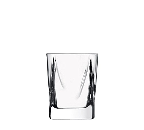 Luigi Bormioli 11430/01 Alfieri 12 oz DOF Double Old Fashioned Glasses (Set Of 4), Clear