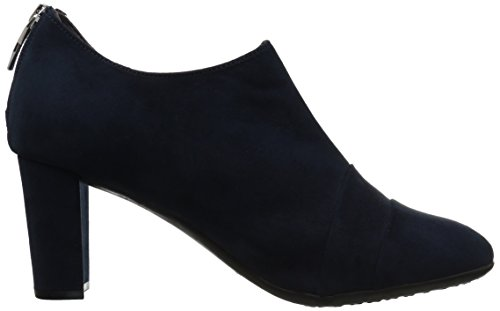 Black Fabric Aerosoles Boot Dark Ankle Tavern Women's Blue qqfwPSa