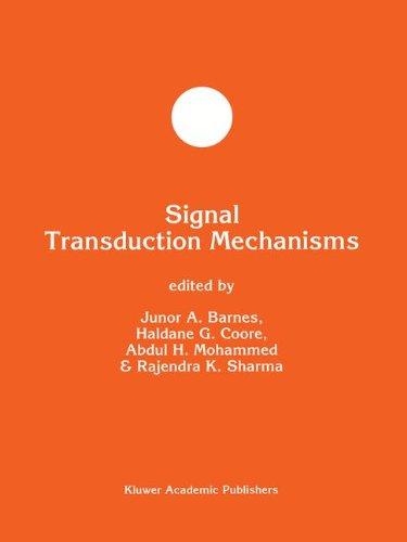 Signal Transduction Mechanisms (Developments in Molecular and Cellular Biochemistry)