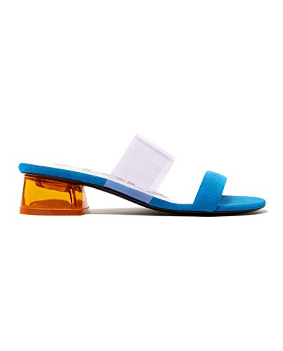 Bimba y Lola Women's Transparent Heel Sandal 181BZ1242 yHymbWon