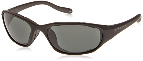 Native Eyewear Throttle Sunglasses, Matte Black with Gray Lens