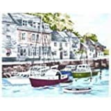 Tapestry Kit - The British Collection - Padstow Harbour - all materials included in the kit