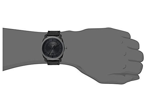 Fossil-Mens-Machine-Watch-With-Leather-Strap