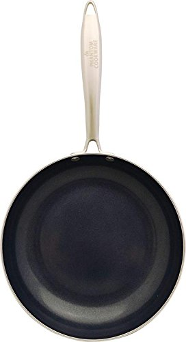 Phantom Cookware Ceramic Frying Pan (9.5''): Premium Non-Stick Pan For Healthy And Easy Cooking, Non-Scratch Coating, Strong Aluminum And Copper Construction - For Omelettes, Pancakes, Stir Fry