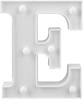 H LED Deko Buchstaben mit warmen Licht 22 cm A-Z Lampe beleuchtet Hinstellen Hochzeit Schriftzug Wort Love Home Batterie Lechtdeko Alphabet Ja Liebe Romantisch Wohnzimmer Bar Leuchtbuchstaben