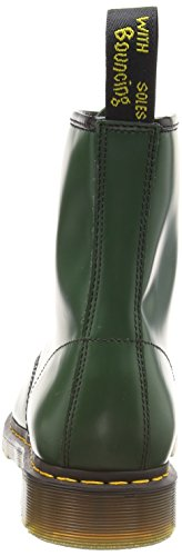 Dr. Martens Men's 1460 Classic Boot Green Smooth Leather sale clearance NtcYWgVUc