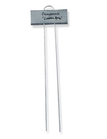 Large Markers Galvanized Steel Plant Markers, Set of 25 by Gardener's Supply Company