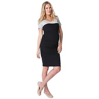 1b8e8fb71d6 Seraphine Bethany Bodycon S Sleeve Maternity Dress Black 8 RRP £49 (8)   Amazon.co.uk  Clothing
