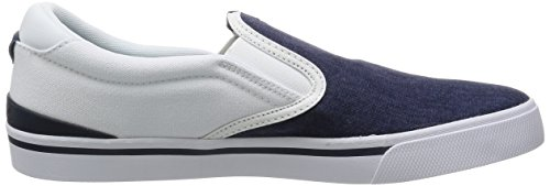 Adidas Park St Slipon - F99236 Wit-navy Blue