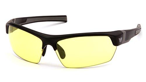 Venture Gear Tensaw Black Frame/Yellow AF Lens VGSB330T