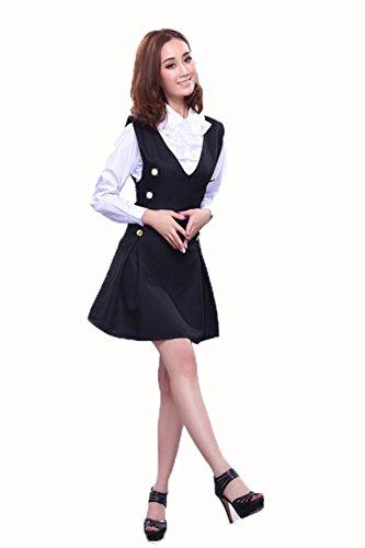 SEX PLAY In Bianco E Nero Di Gioco Tentazione Delle Uniformi Domestica Caricato Attrezzatura Della Domestica