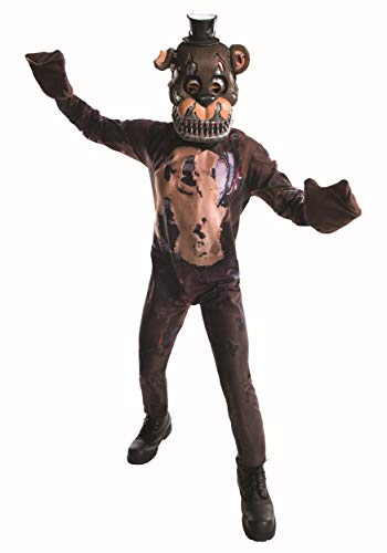 Rubie's Costume Boys Five Nights at Freddy's Nightmare Fazbear Costume, Large, ()
