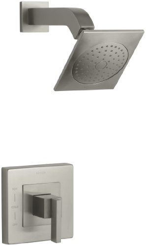 KOHLER K-T14670-4-BN Loure Rite-Temp Shower Trim, Vibrant Brushed Nickel by Kohler
