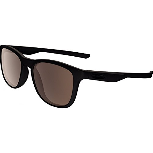 Oakley Adult Trillbe X Sunglasses, Matte Black/Warm Grey, One ()