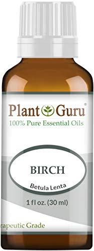 Birch Essential Oil 1 oz / 30 ml 100% Pure Undiluted Therapeutic Grade. (White Birch Essential Oil)