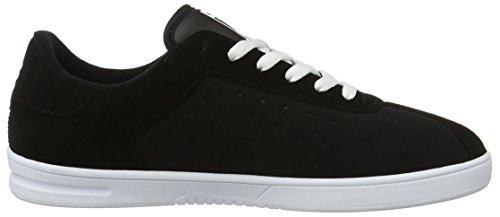 Etnies The Scam, Color: Black/White, Size: 45.5 Eu / 11.5 Us / 10.5 Uk