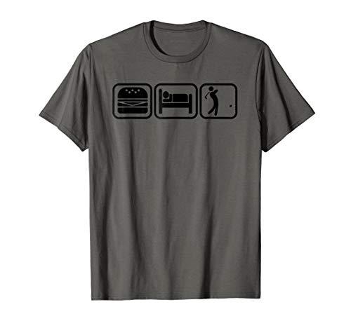 Eat , Sleep, Golf & Repeat | Golf Lovers Driving Range Shirt