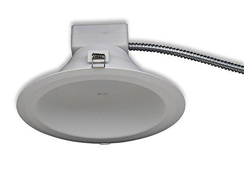 GE Lighting RX810835MV RX Series 8 in Round Retrofit LED recessed Downlight White