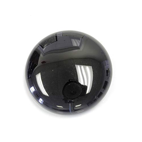 30mm Round Genuine Black Onyx Calibrated Cabochon 1 Piece Lot Flat Back DIY Jewelry - 30 Black Onyx Mm