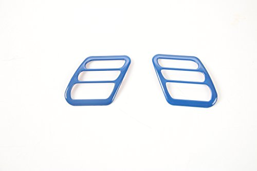 Hooke Road Blue Air Conditioning Outlet Accent for 1997-2001 Jeep Wrangler TJ & Unlimited ()