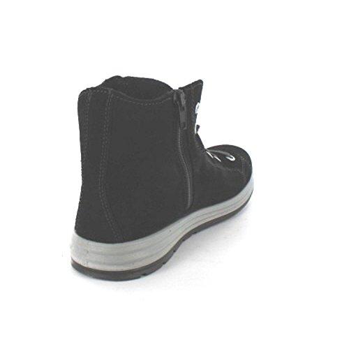 Ricosta Jan - zapatillas deportivas altas de piel niños negro - negro