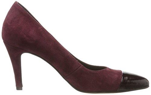Tamaris Damen 22442 Pompen Rot (wijnstok / Patent)