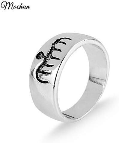Men/'s Stainless Steel Rings James Bond TV /& Movie Titanium Steel Jewellery Ring