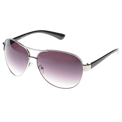 MLC Eyewear Vintage Classic Fashion Aviator Sunglasses Tri-Layer UV400 - Men Sunglasses Vintage Aviator For