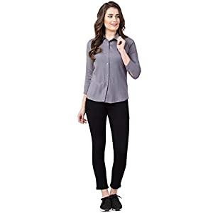 FUNDAY FASHION Women's Formal Shirt