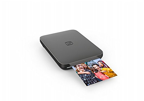 Lifeprint 3x4.5 Portable Photo and Video Printer for iPhone and Android. Make Your Photos Come to Life w/Augmented Reality - Black ()