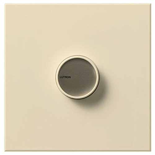 Lutron C-1500-BE, Single Pole 1500 Watt Incand Light Dimmer, Beige by Lutron