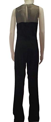 Cristinaeffe Damen Straight Leg Jumpsuit schwarz schwarz 46
