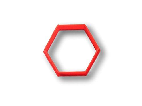 Hexagon Cookie Cutter (5 Inch)