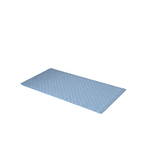 Park Avenue Deluxe Collection Park Avenue Deluxe Collection Large (18'' x 36'') Slip-Resistant Rubber Bath Tub Mat in Slate