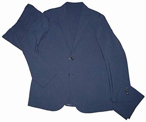 セットアップ 洗える ストレッチ 防シワ 吸水 速乾 紺 スーツ