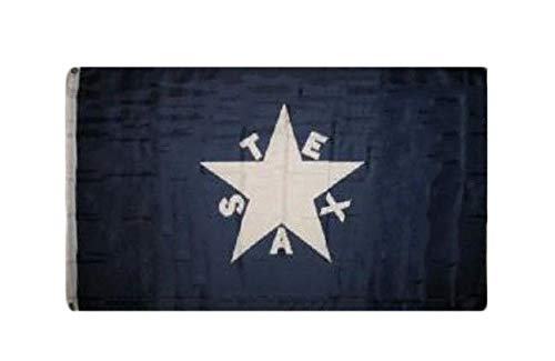 - ALBATROS 2 ft x 3 ft First Republic of Texas Zavala Perma Dye Poly Flag 2x3 Brass Grommets for Home and Parades, Official Party, All Weather Indoors Outdoors