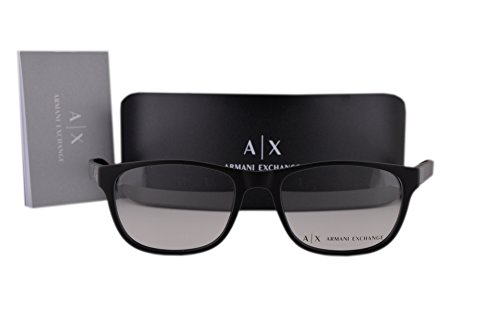 Armani Exchange AX3034 Eyeglasses 54-18-140 Matte Black 8078 AX - Exchange Email Armani