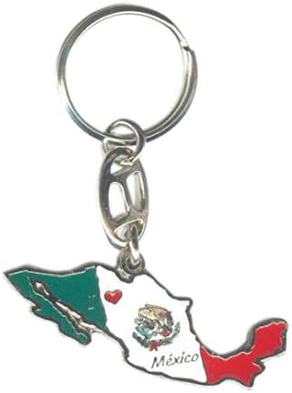 Keychain MEXICO MAP