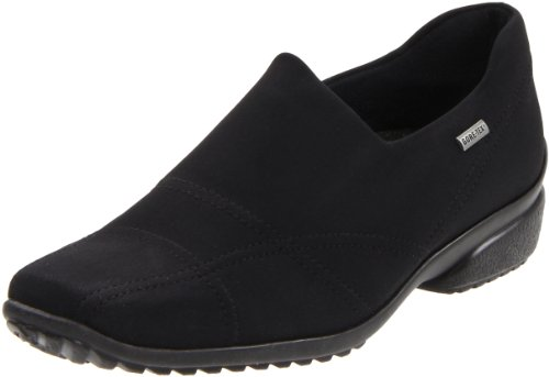 ara Women's Pam Slip-On,Black Fabric,10 M US