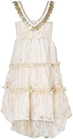 فستان اوف وايت مقاس 18 شهر بنات من فينتى